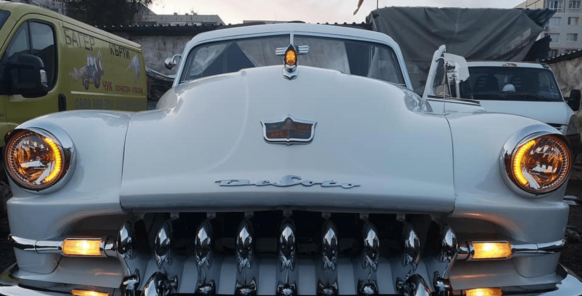 Приключи реставрацията на ДеСото – кабриолет