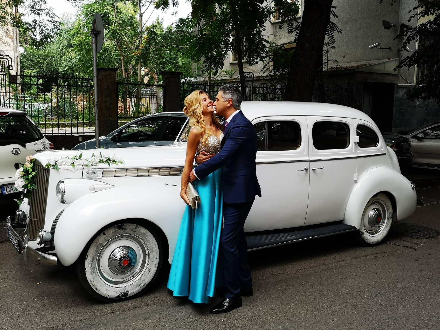 Ретро автомобил Пакард – идеален за балове и сватби