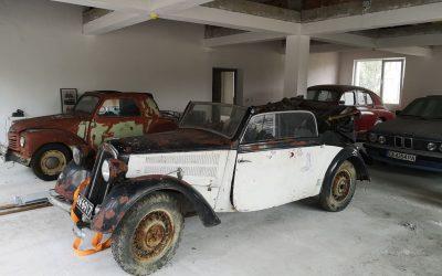 Реставрация на кабриолет DKW от 1939 г. и FIAT Topolino от 1950 г.