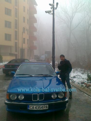 svatben avtomobil-blatechki