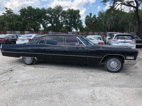 Cadillac Fleetwood 1968 реставрация