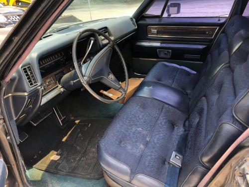 Cadillac Fleetwood 1968 restoration