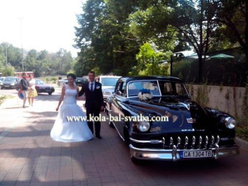 na svatba s retro kola desoto